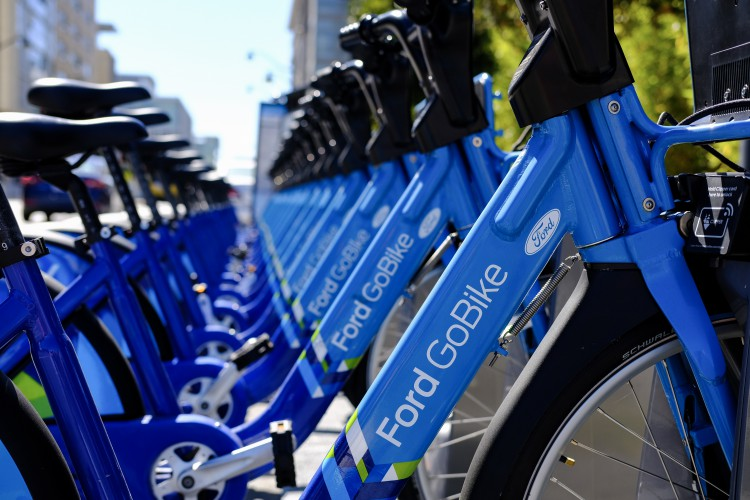 Hop on (But Safely): Ford GoBikes Ready to Ride at Mission Bay