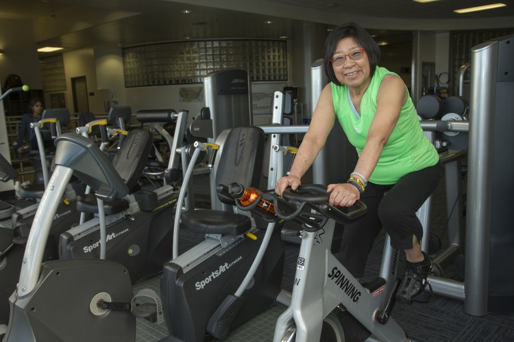 Janice Watanabe Finds Community at Millberry Fitness Center