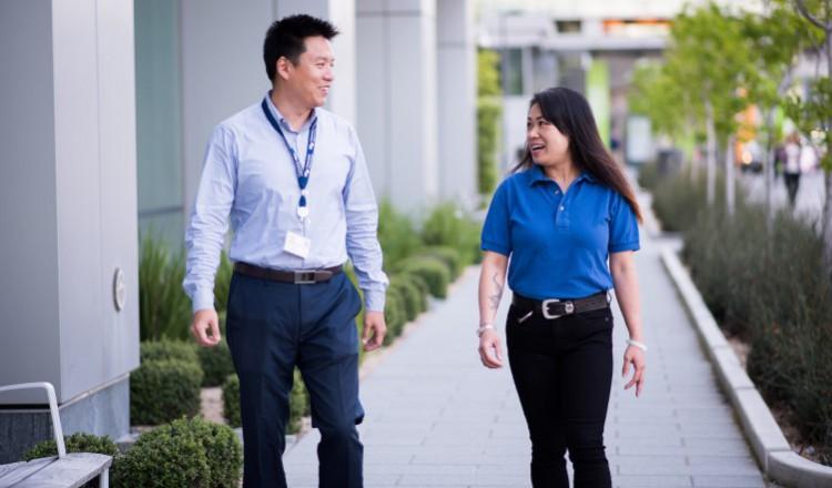 Jessica Li with Supervisor Yat Cheung