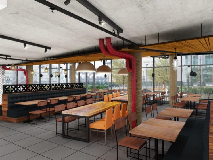 SF Kebab Main Dining Area