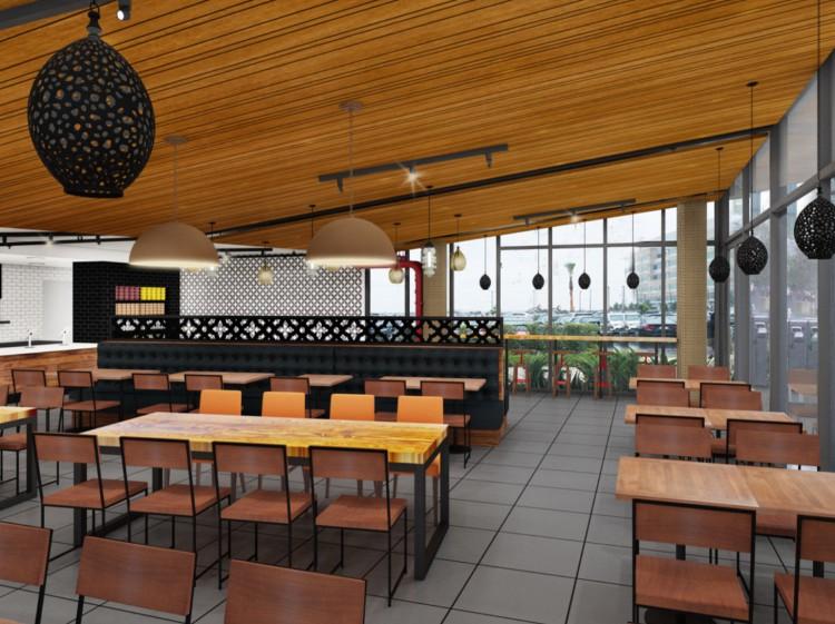 SF Kebab Alternative Dining Area