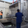 Autoclave Installation at Helen Diller