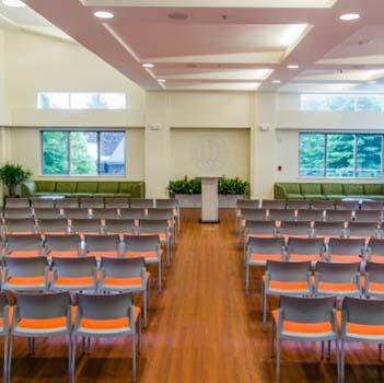Aldea Center Classroom style seating