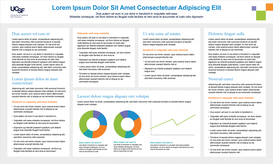 UCSF Scientific Poster Templates