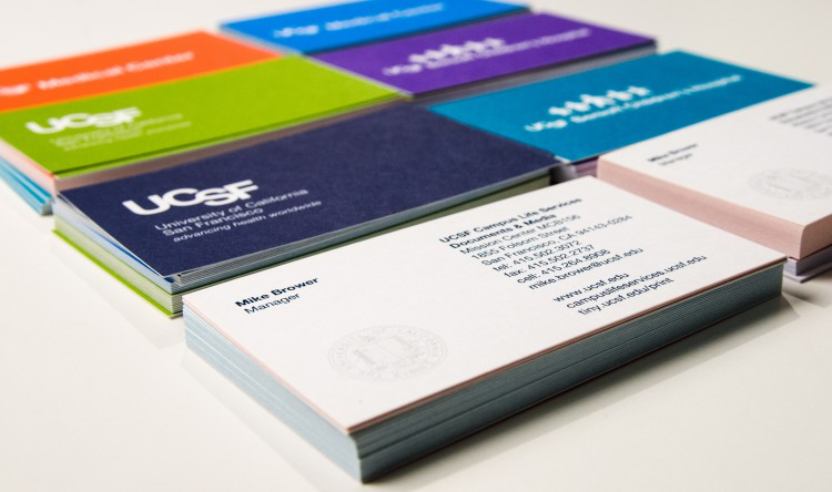 Ucsf campus life services documents media for Uc berkeley business cards