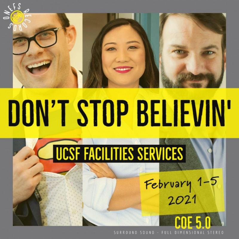 COE 5.0 Don't Stop Believin'