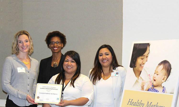 The Healthy Mothers Workplace Coalition of San Francisco Honors UCSF Lactation Accommodation Program