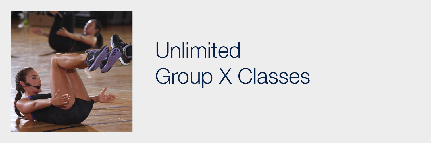 Unlimited Group X Classes