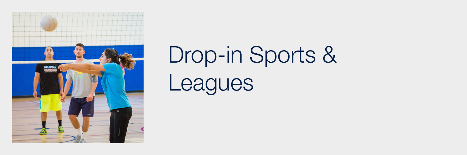 Drop-in Sports and Leagues