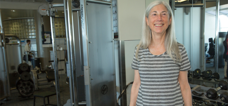 Susan Recovered Her Strength at UCSF Fitness & Recreation Centers