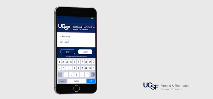 UCSF Fitness & Recreation Mobile App