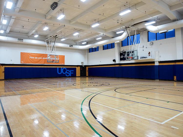 Millberry Fitness Center Gymnasium