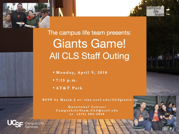 2018 Giants Game Day Flyer