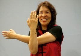Angela Lee Helps People Release Healing Energy with Qi Gong