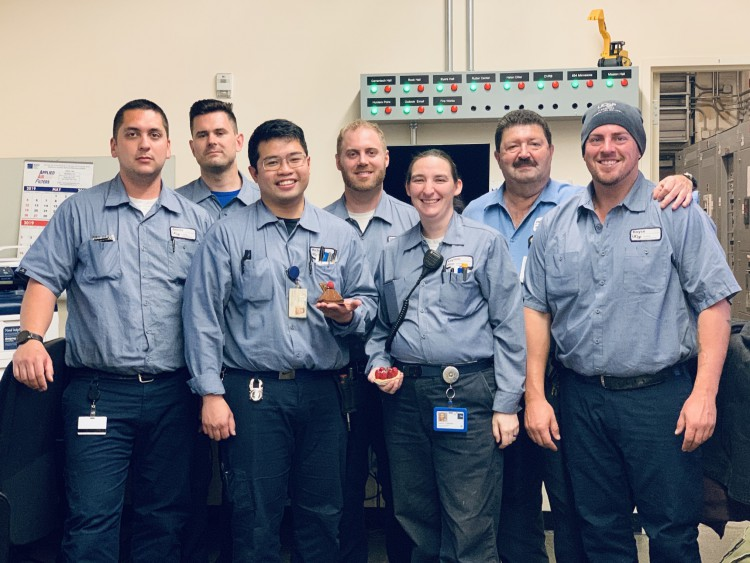 Engineers and trades employees at UCSF