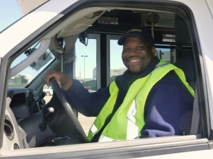 """UCSF Shuttle Driver Greg Valentine is a """"People Person"""""""