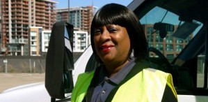 A Positive Attitude is the First Step Toward a  Good Day for UCSF Shuttle Driver Janet Johnson