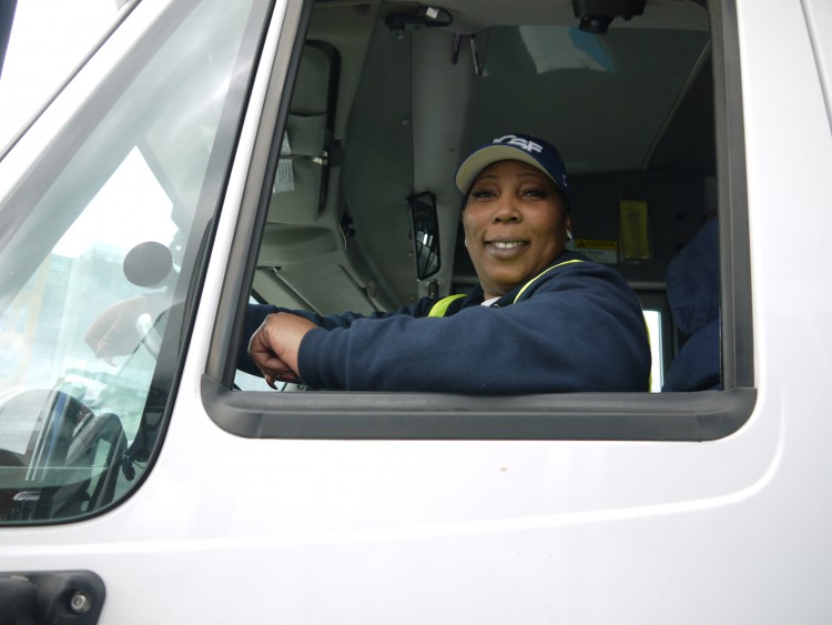 Shuttle Driver Tanya Loftin Brings Passion to Her Job