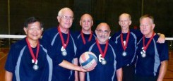Roger Underhill is UCSF's Volleyball Ambassador