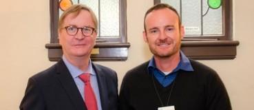 Todd McGregor Receives Sustainability Award