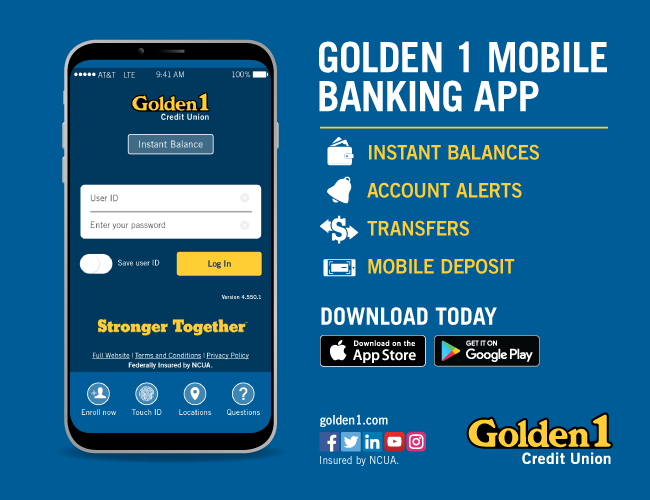 Golden 1 Mobile App picture
