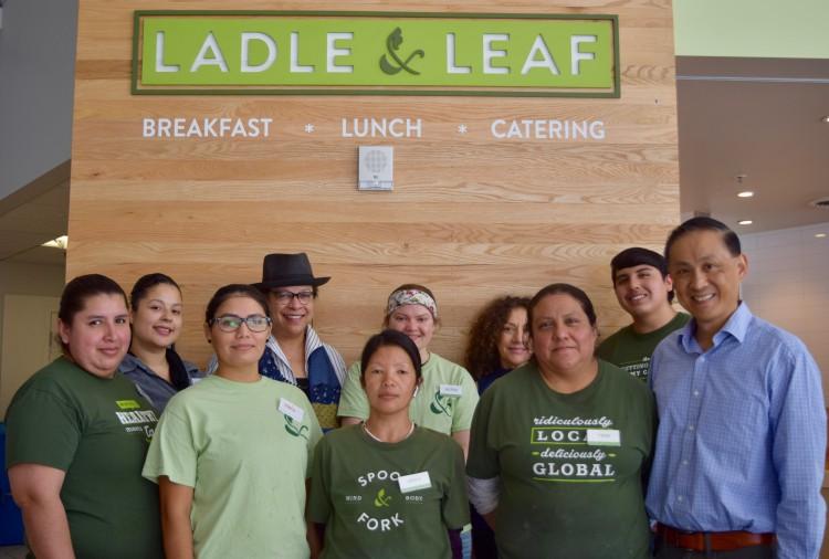 Ladle & Leaf Employees