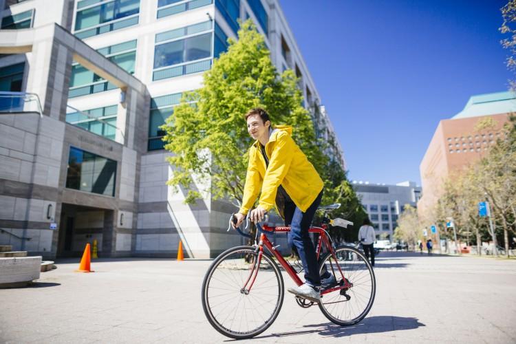 Biking image