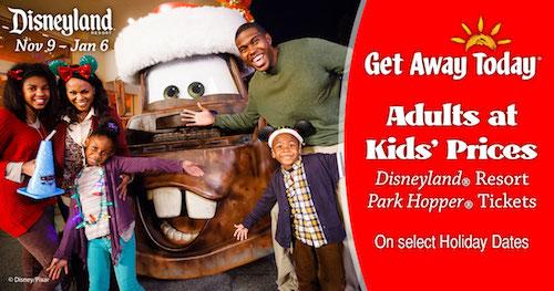 Get Away Today Disneyland Resort Deal