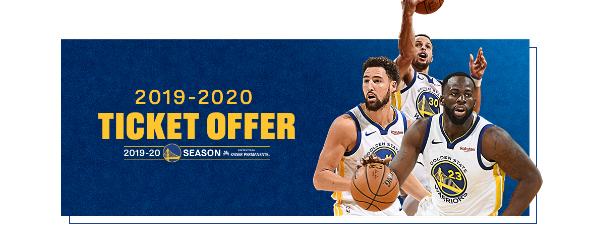 Warriors Ticket UCSF Club Image