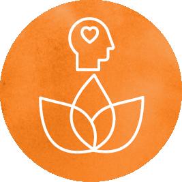 Emotional wellness icon