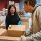 Volunteering at SF Marin Food Bank