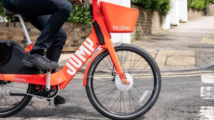 Uber Jump bike.